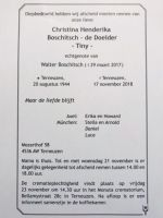 Tiny Boschitsch de Doelder advertentie
